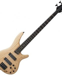 Ibanez SR600NTF SR Series 4 String Bass Guitar (Natural Flat)