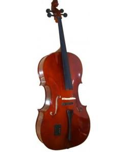 Mason AL2144D Cello with Bow and Case