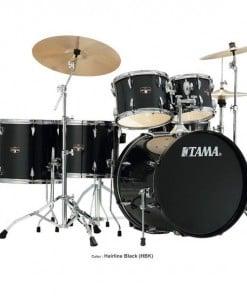 Tama IP62H6N-HBK Imperialstar 6 Piece Acoustic Drum Kit with Hardware