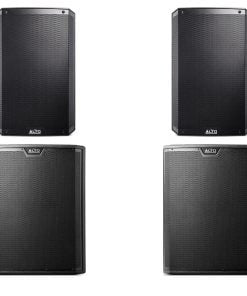 Alto TS315 and TS318s – 3000w to 12000w Speaker & Subwoofer PA Sound System Package